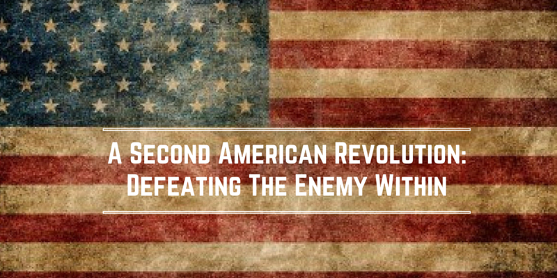A Second American Revolution: Defeating The Enemy Within