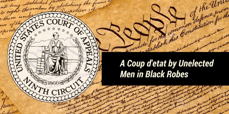 A Coup d'etat by Unelected Men in Black Robes