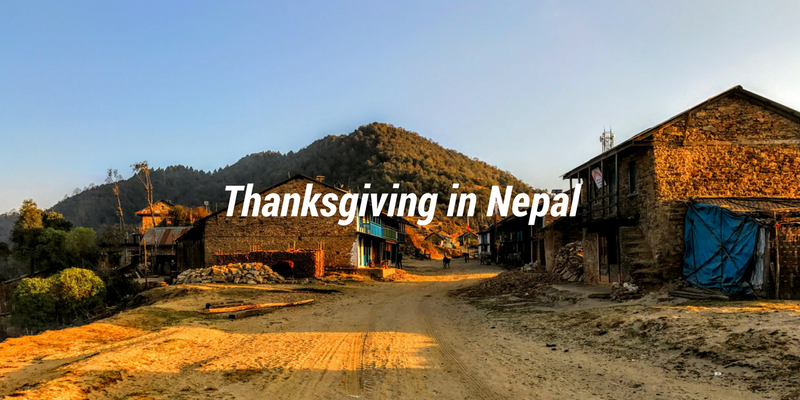 Thanksgiving in Nepal