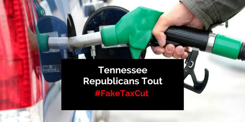 Tennessee Republicans Tout #FakeTaxCut