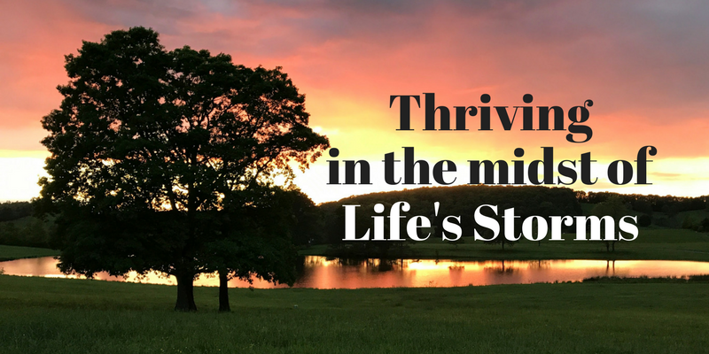 Thriving in the Midst of Life's Storms