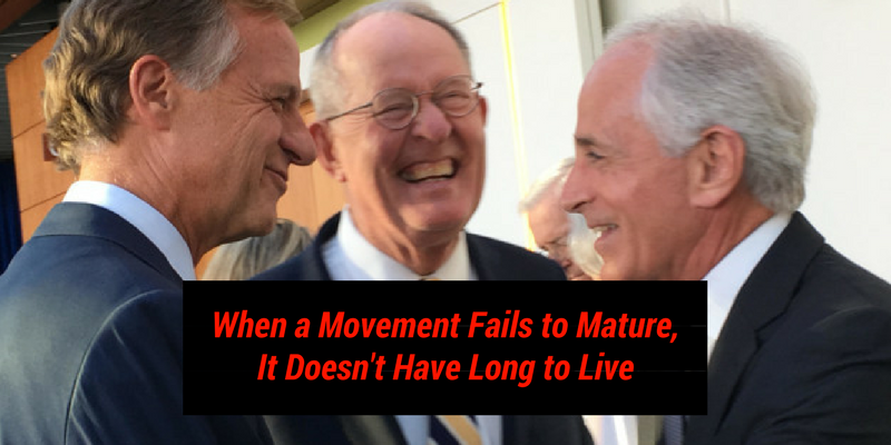 When a Movement Fails to Mature, it Doesn't Have Long to Live