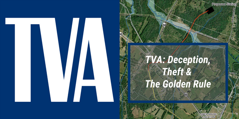 TVA: Deception, Theft & the Golden Rule